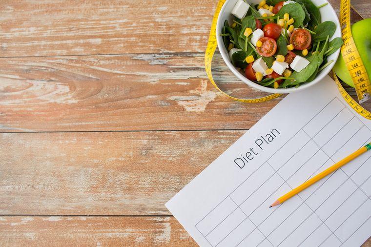 план по похудению