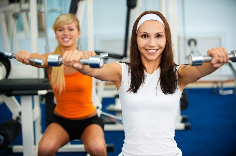 силовые нагрузки для женщин