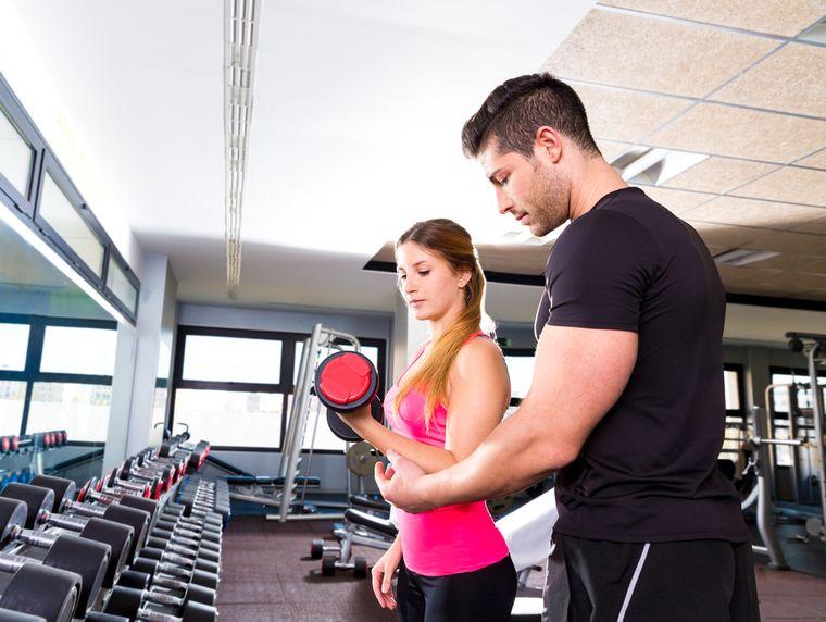 личный тренер по фитнесу