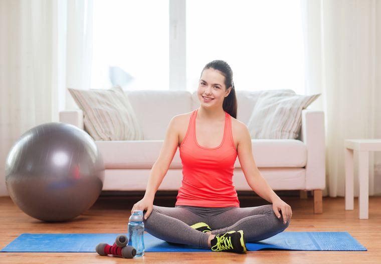 Похудение спортом в домашних условиях