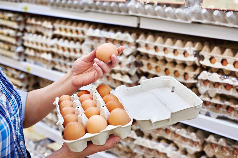 Калорийность среднего яйца