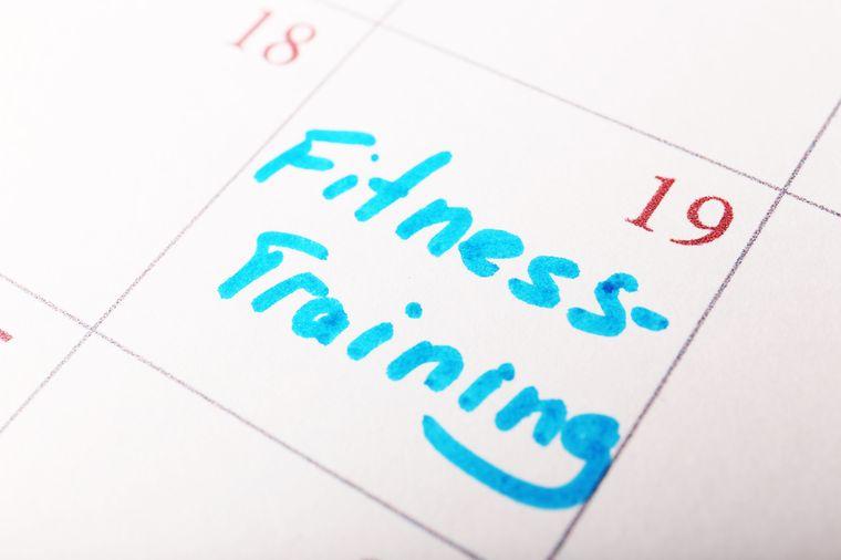 план тренировок