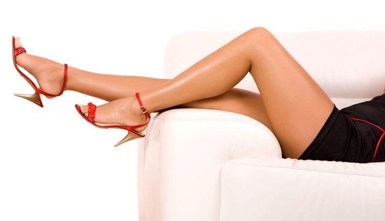 похудела в ногах