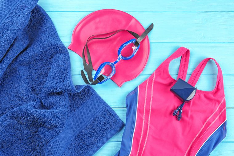 инвентарь для плавания