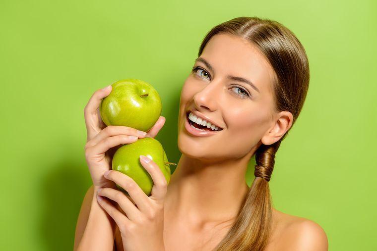 Как быстро похудеть на яблоках