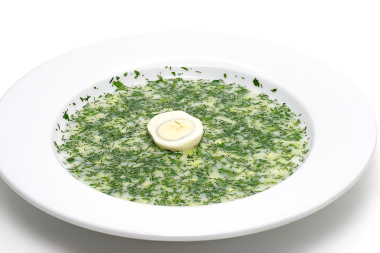 кефирный суп