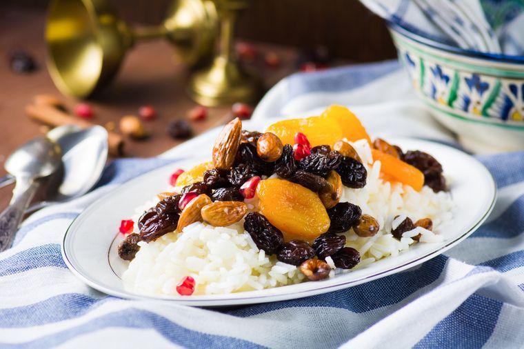 блюдо для восточной диеты