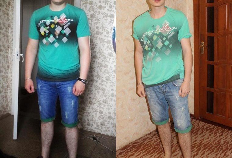 Денис, 22 года, похудел на 16 кг