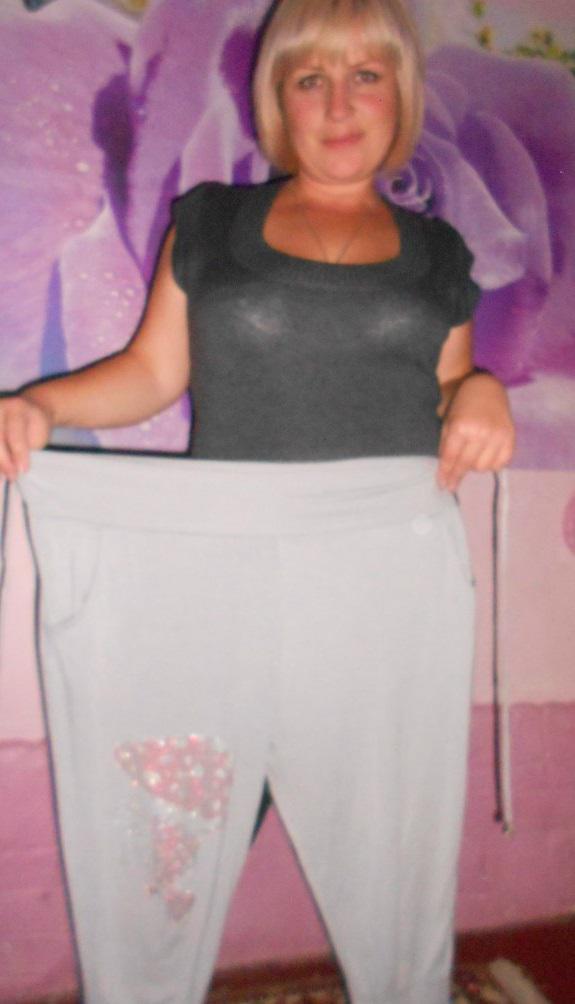Елена, 39 лет, результат похудения