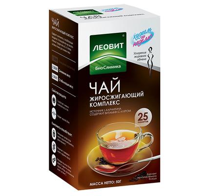 леовит худеем за неделю чай жиросжигающий суп