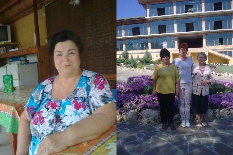 Людмила похудела на 16 кг в 67 лет