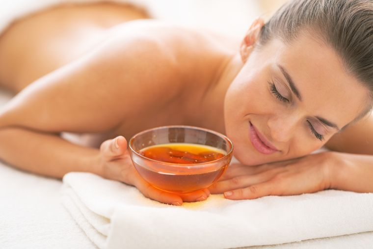 honey slimming massage