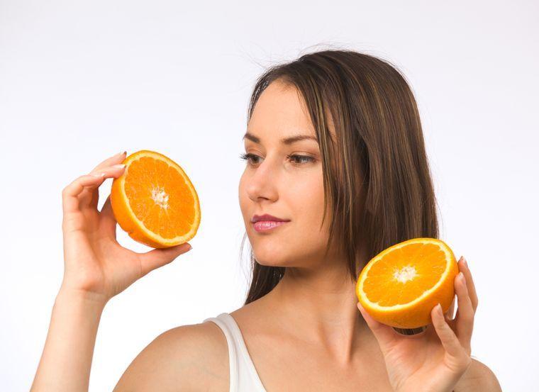 on an orange diet