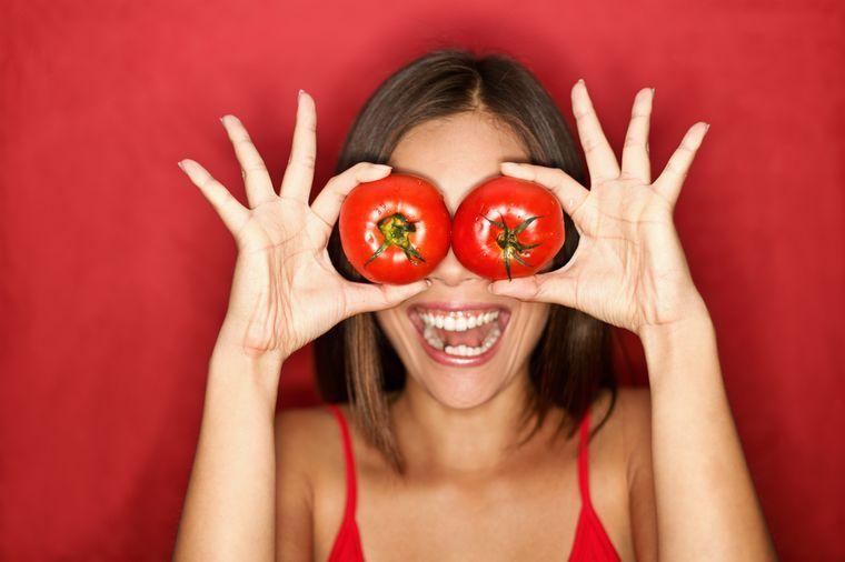 на томатной диете