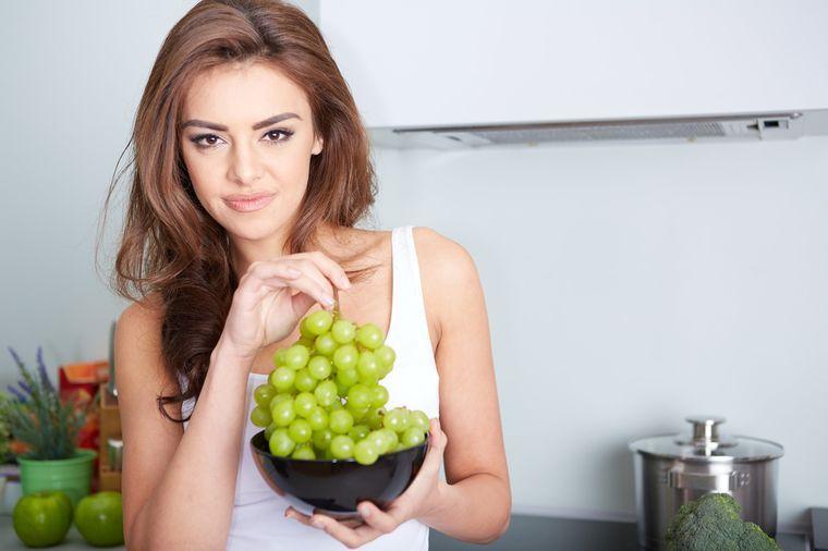 на виноградной диете