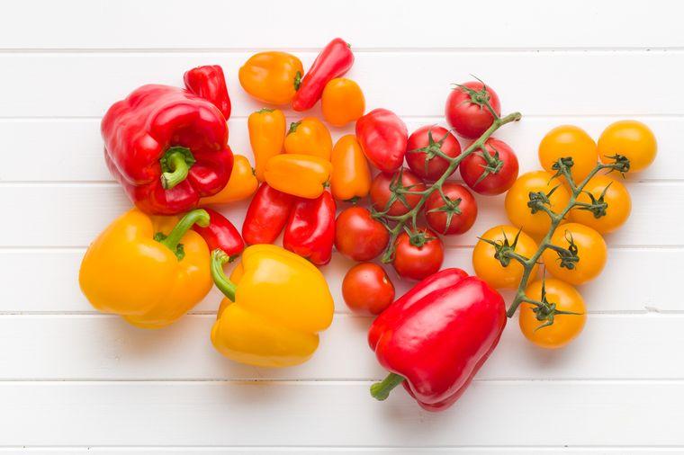 помидоры и перцы