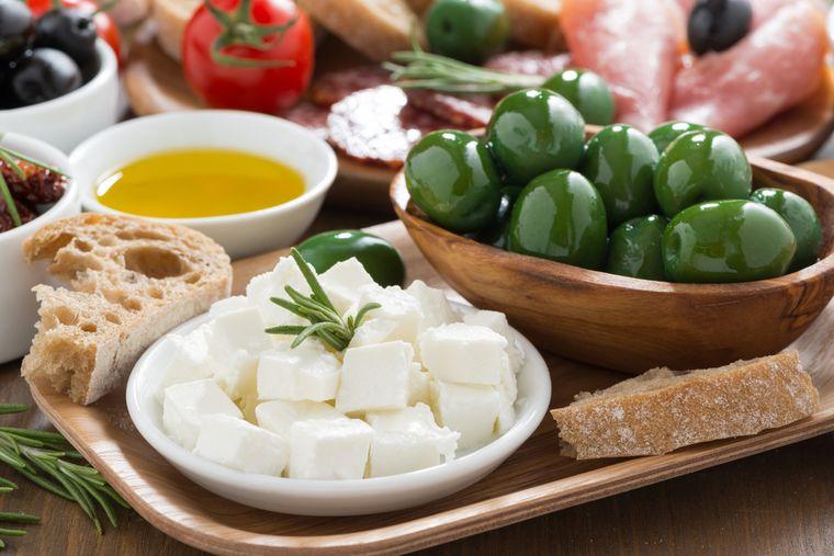 продукты для греческой диеты