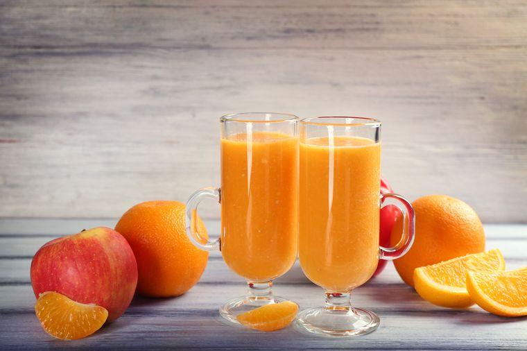 смузи из яблоко и апельсинов