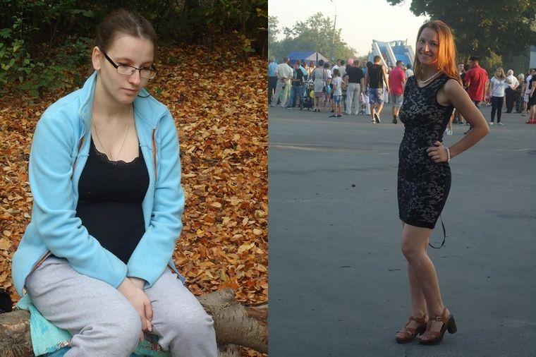 Татьяна, 23 года, похудела на 12 кг