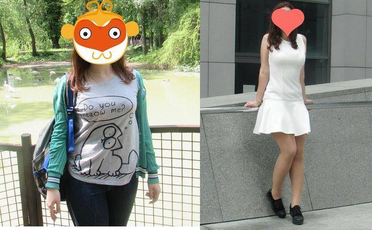 Лена, 19 лет, похудела на 20 кг