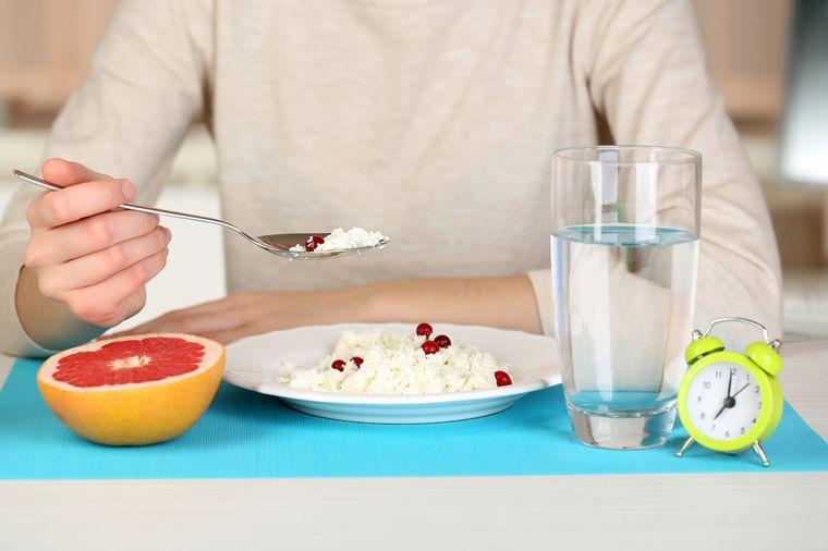 на творожной диете