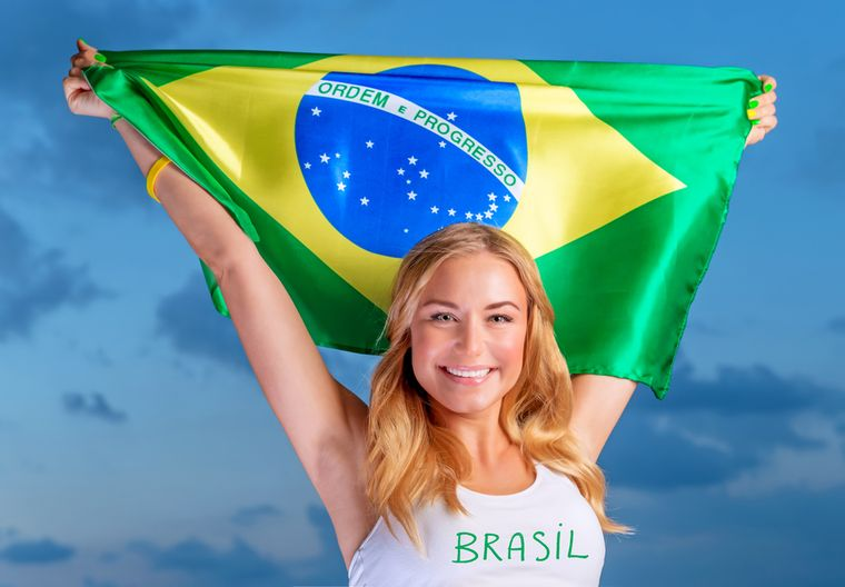 бразильская девушка