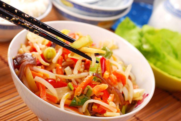 блюдо китайской диеты