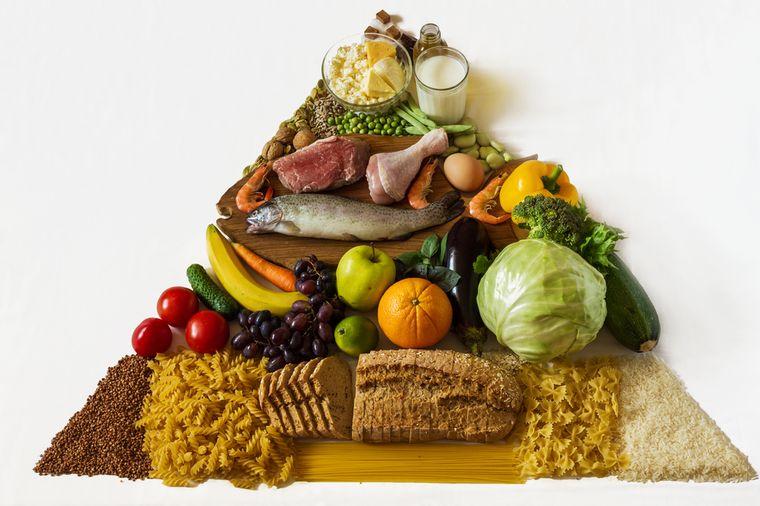 продукты для диеты моделей