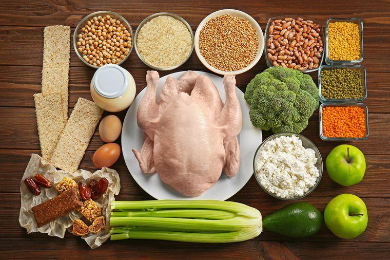 Правильные продукты питания похудения