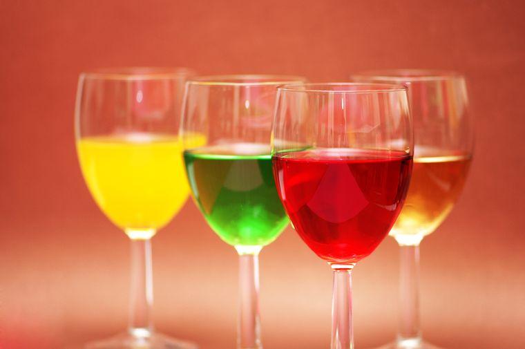 прозрачные напитки