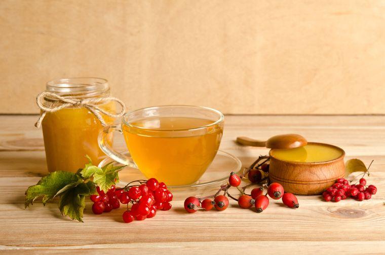 шиповник и мед