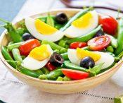 Диета на желтках и овощах