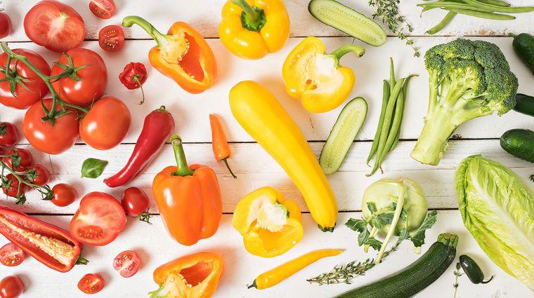 продукты для цветной диеты