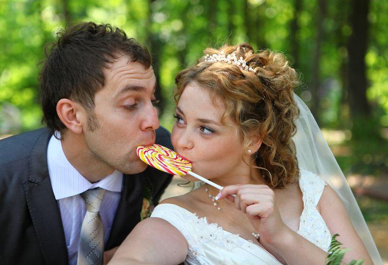 супружеская пара похудела на диете свадебный размер