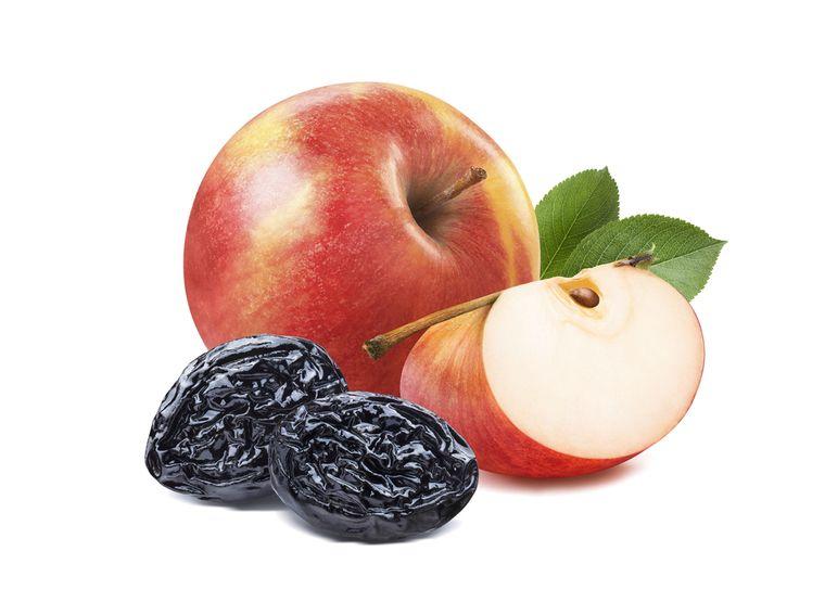 яблоки и чернослив