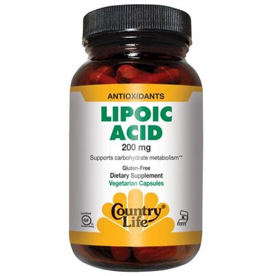 Active Lipoic Acid от Country Life