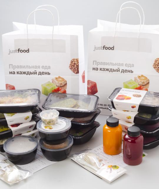 правильное питание из доставки Just Food