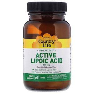 Active Lipoic Acid от Country Life