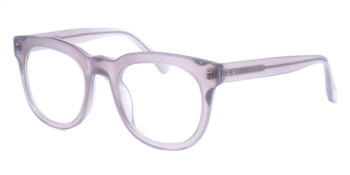 Прозрачная оправа – стильная, незаметная, везде уместная