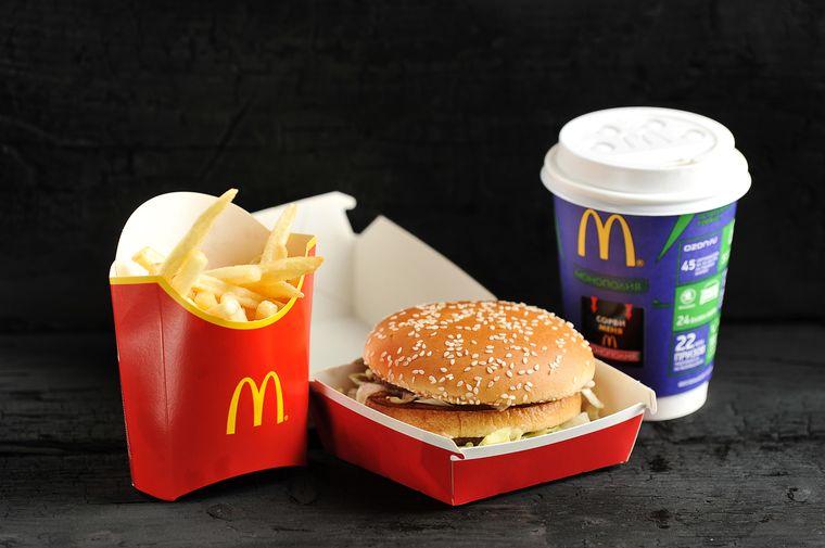Макдоналдс калорийность