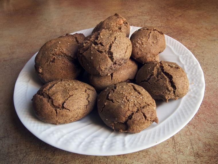 льняное печенье