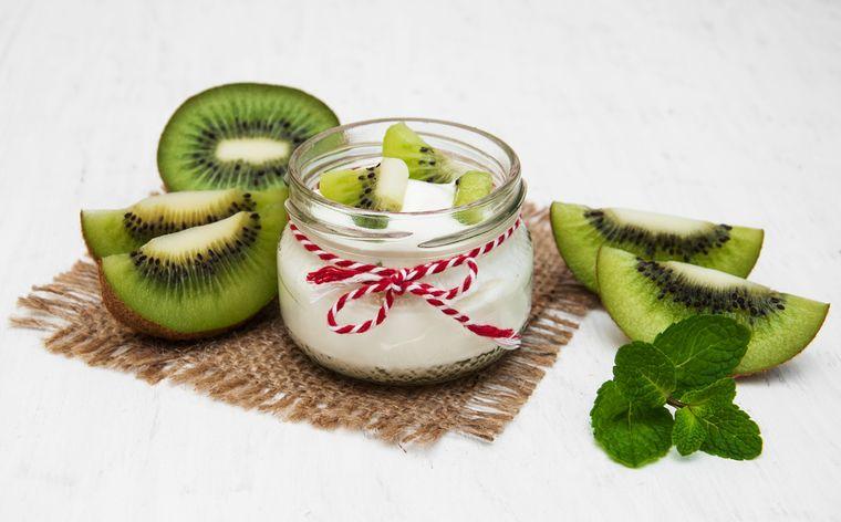 йогурт с киви