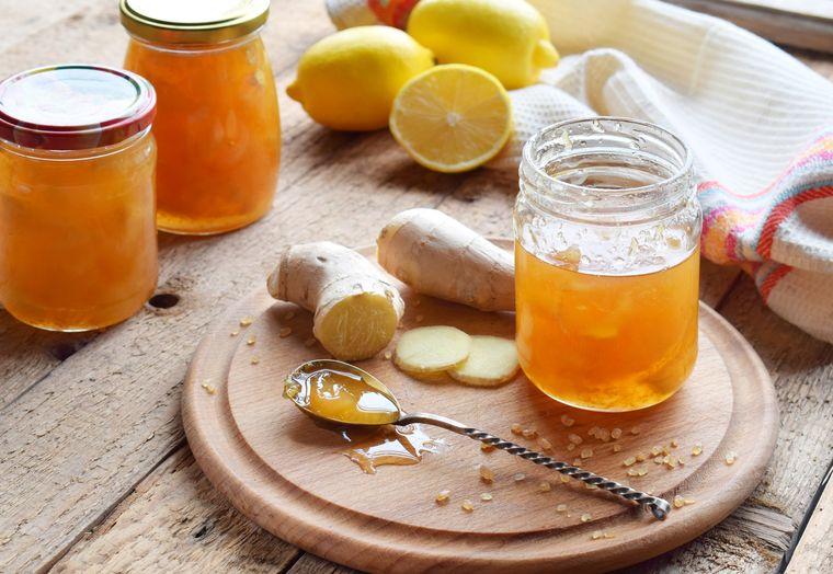 конфитюр из имбиря с лимоном