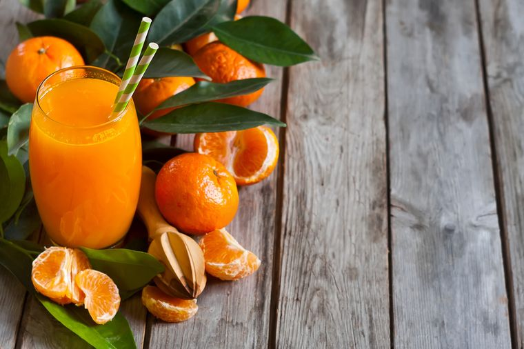 мандариновый фреш