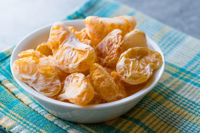 мандарины сушеные