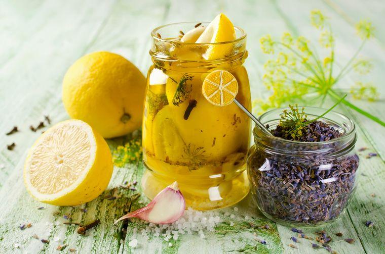 маринованный лимон