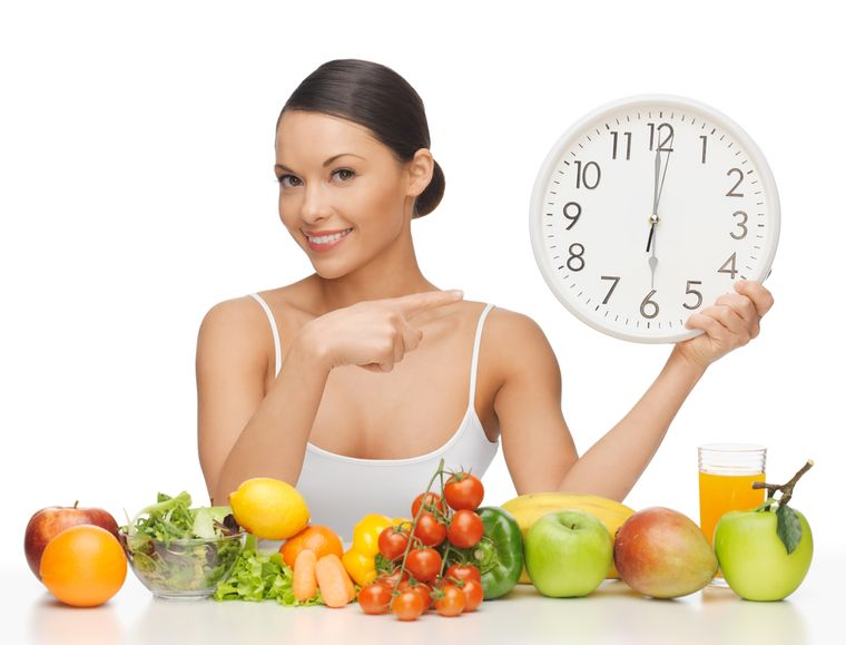 на диете по часам