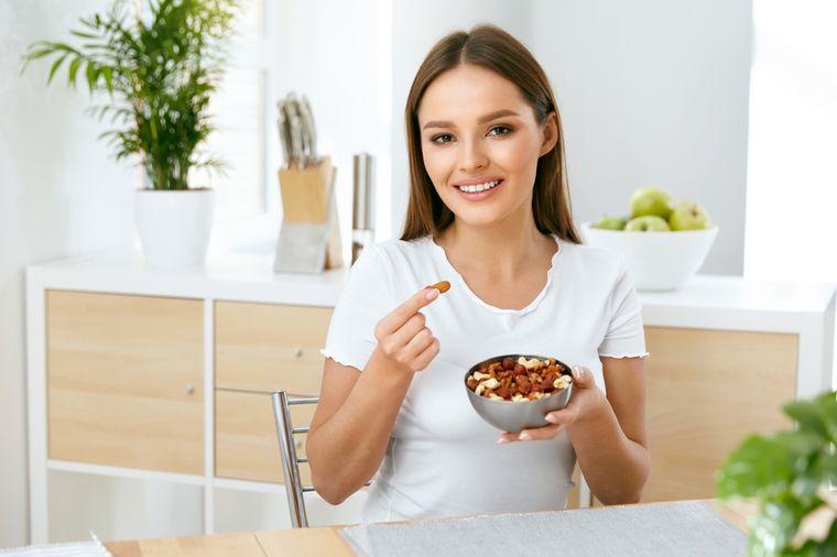 на ореховой диете