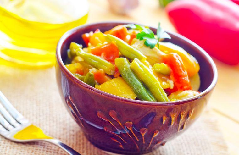 овощное рагу с бобами