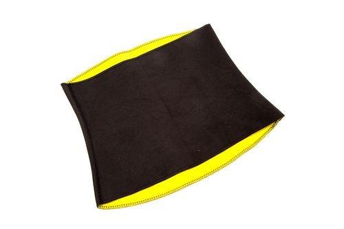 пояс хот шейперс черный с желтым